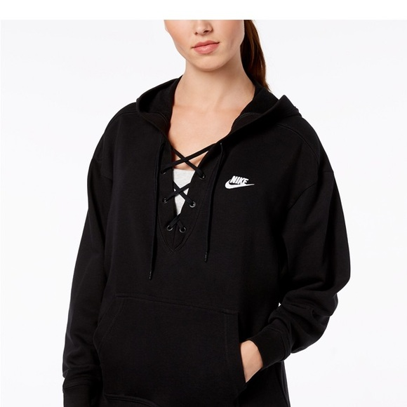 117cd4dce241 NWT Nike Rally Lace-Up Hoodie